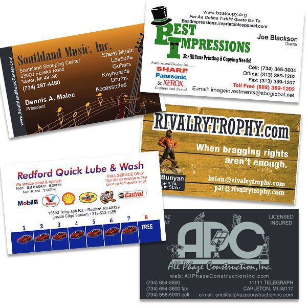Best Impressions Sales, Printers, Promotions - business cards